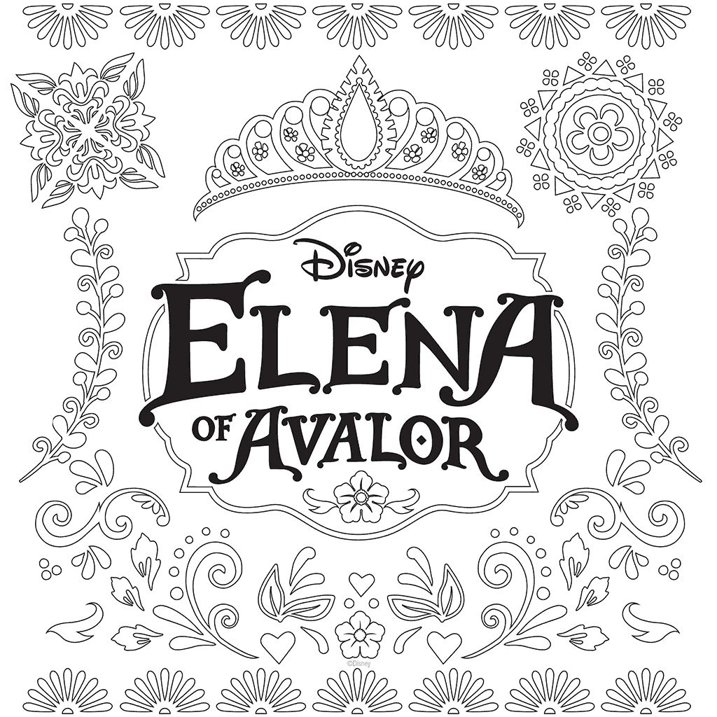 1024x1024 Best Of Elena Of Avalor Coloring Pages To Print Collection Free