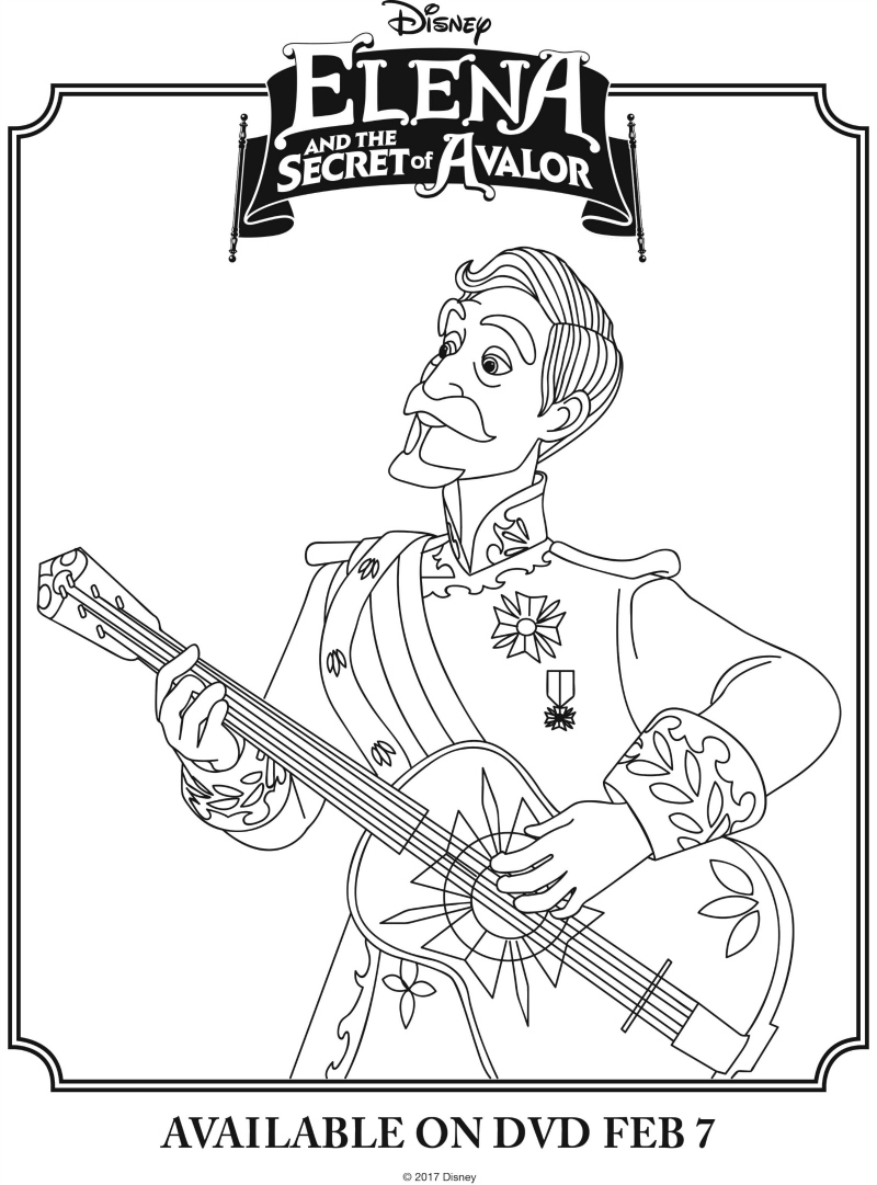 800x1081 Disney Elena And The Secret Of Avalor Coloring Page New Coloring