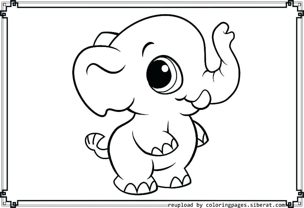 Elephant Coloring Pages at GetDrawings.com | Free for ...