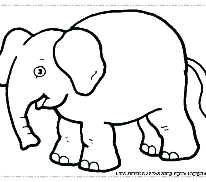 678x600 Baby Elephant Coloring Pages Cute Elephant Coloring Pages Baby
