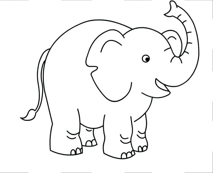 730x593 Elephant Coloring Pages Free Elephant Coloring Pages Elephant