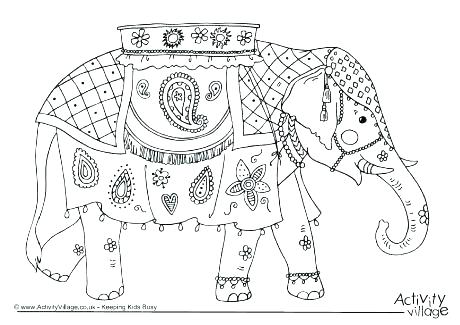 460x325 Coloring Pages Elephants Coloring Pages Elephant Elephant Color
