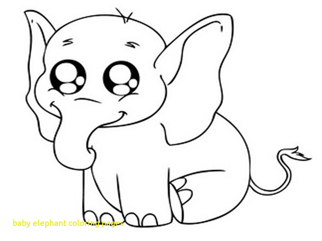 1024x768 Baby Elephant Coloring Pages With Baby Elephant Coloring Page