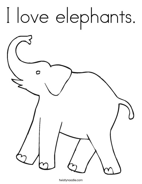 468x605 Pics For Gt Elephant Ears And Trunk Template Phant Phants