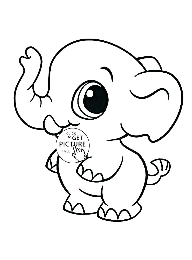 758x1024 Coloring Page Elephant Awesome G Page Elephant Image Pages Smiling