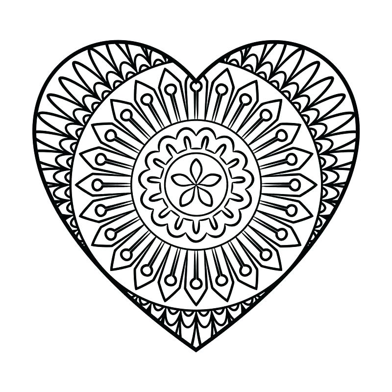 Elephant Mandala Coloring Pages At Getdrawings Com Free For