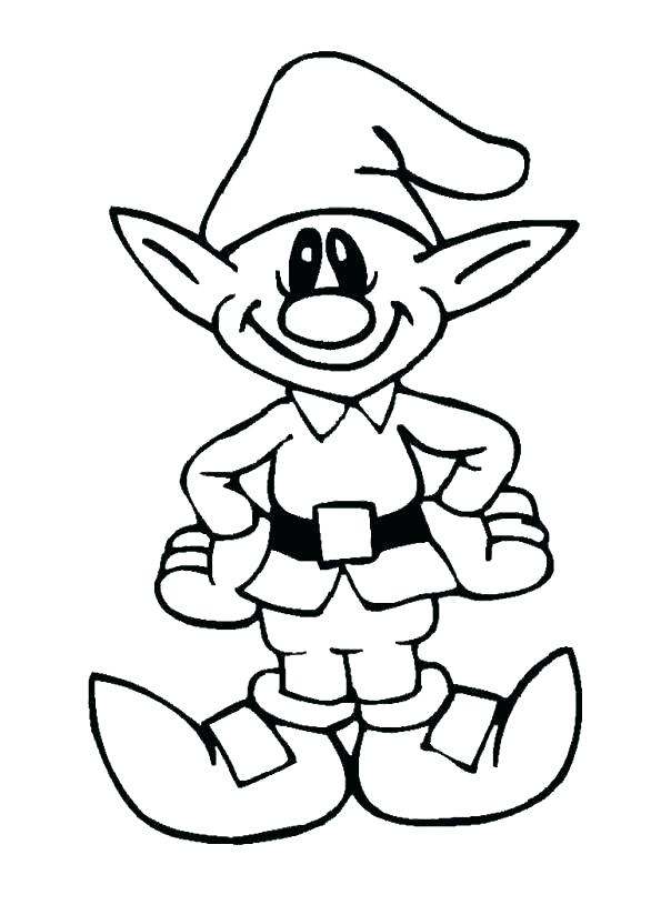595x815 Elf Coloring Pages Coloring Pages Elf On The Shelf Elf Printable