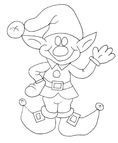 413x500 Christmas Elves Coloring Pages Elves Coloring Pages Elf Coloring