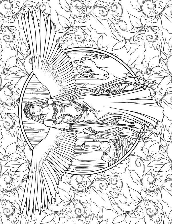 Elf Coloring Pages For Adults at GetDrawings.com | Free for ...
