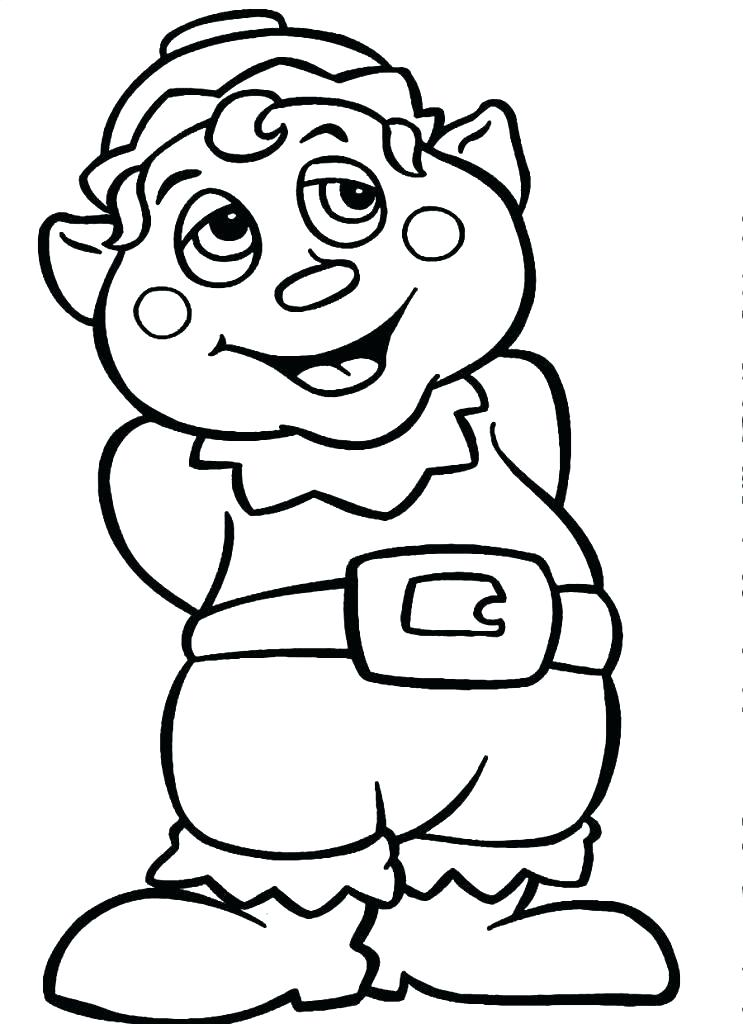743x1024 Elf Coloring Pages Free Elf Coloring Pages For Adults Elf