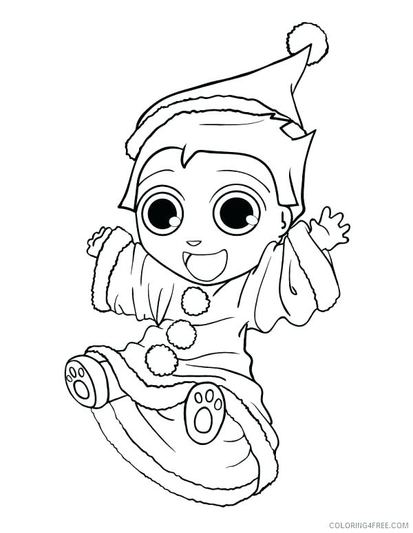 600x775 Elf Printable Coloring Pages Elf Coloring Pages For Kids Cute Elf