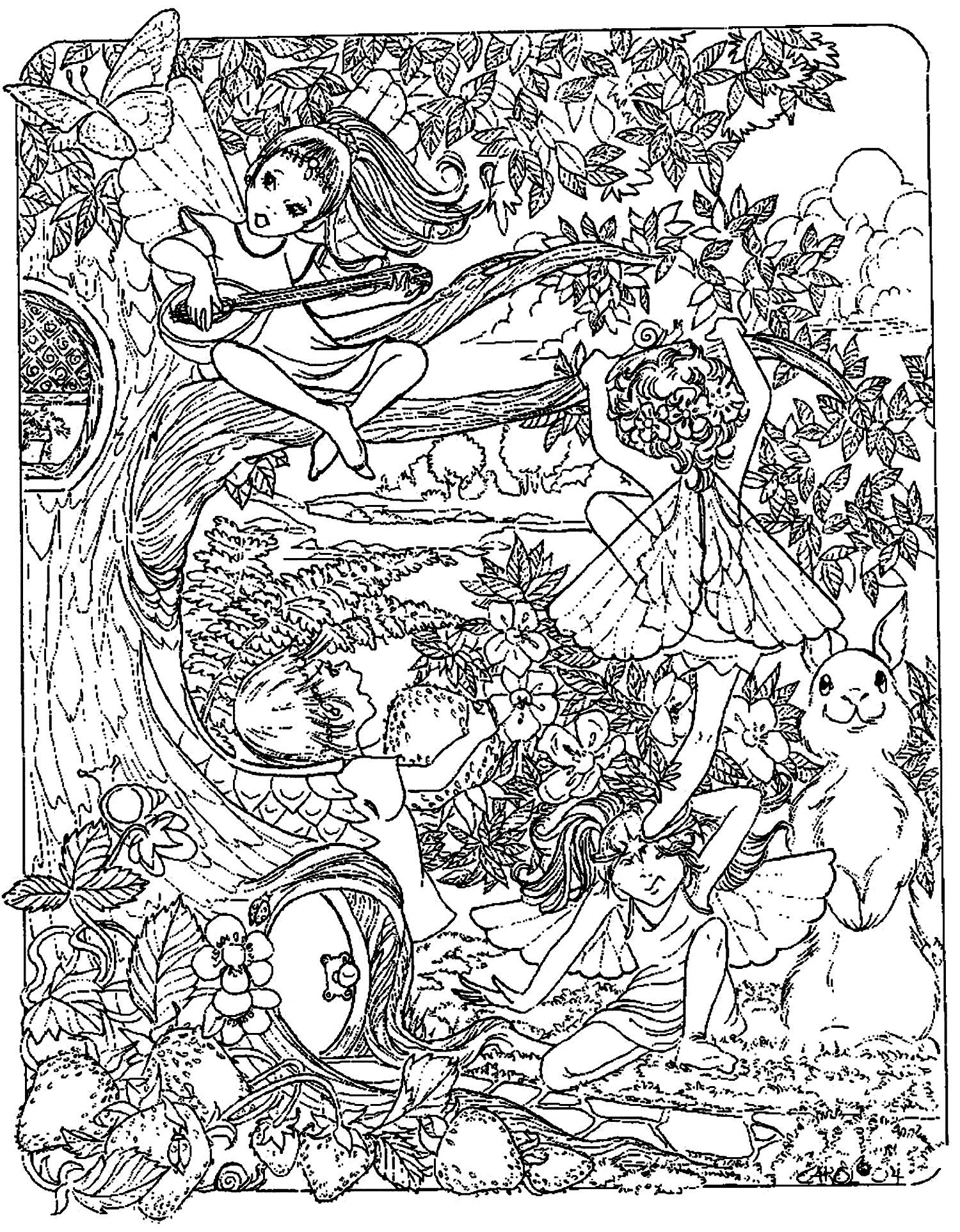 1500x1925 Fantasy Child Elves