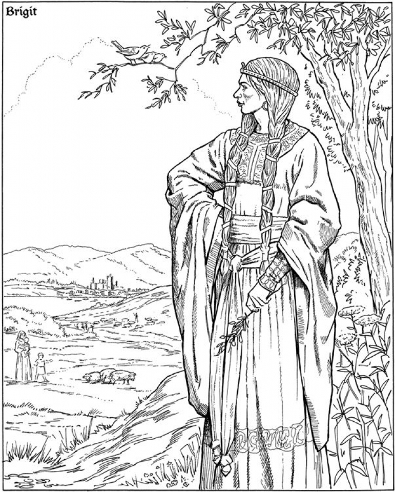 771x960 Get This Free Elf Coloring Pages For Adults !