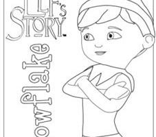227x200 Elf On The Shelf Coloring Pages Elf On The Shelf Coloring Pages