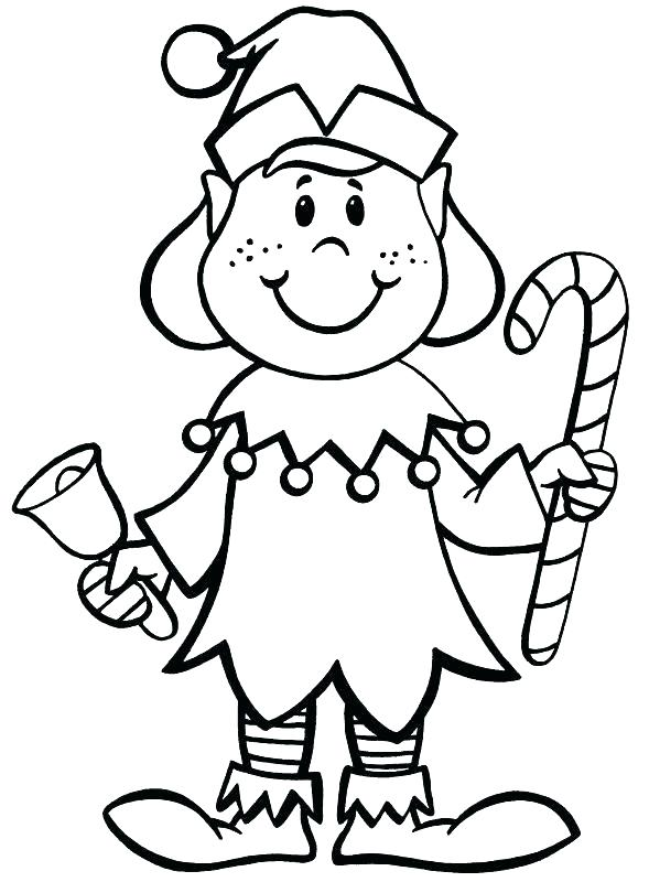 589x800 Interesting Christmas Elf Coloring Page Elves Coloring Pages Elves