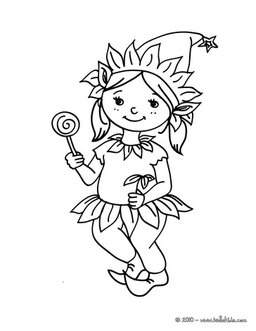 364x470 Elf Coloring Pages Costumes For Girls Coloring Pages