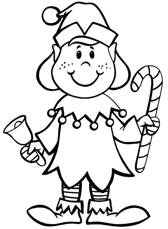 589x800 Elves Coloring Pages Elf Coloring Pages In Elves Coloring Pages