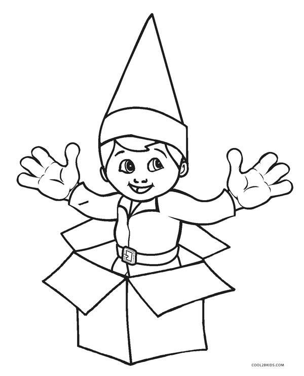 picture relating to Elf Hat Printable referred to as Elf Hat Coloring Web page at  No cost for particular person