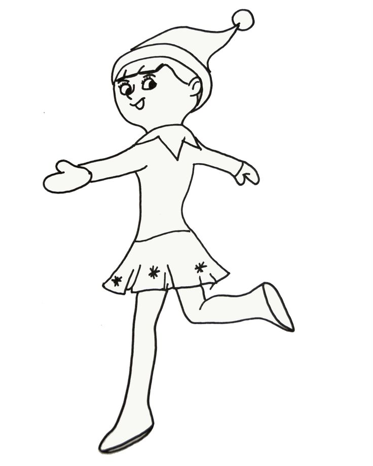 Elf Movie Coloring Pages
