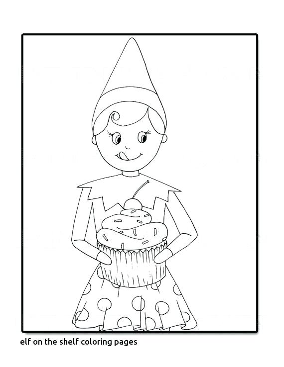 570x738 Elf On The Shelf Coloring Pages Sh Boy Elf On The Shelf Coloring