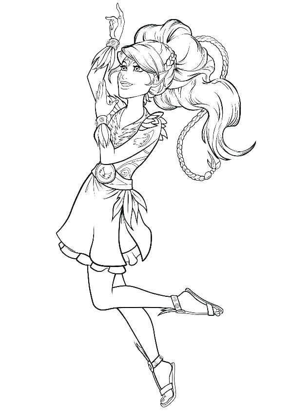 595x842 Elf On The Shelf Color Pages Girl Elf Coloring Page Elf Home