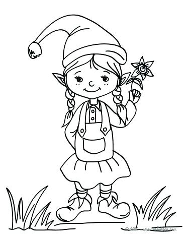 364x470 Elf The Shelf Coloring Elf The Shelf Coloring Pages Elves