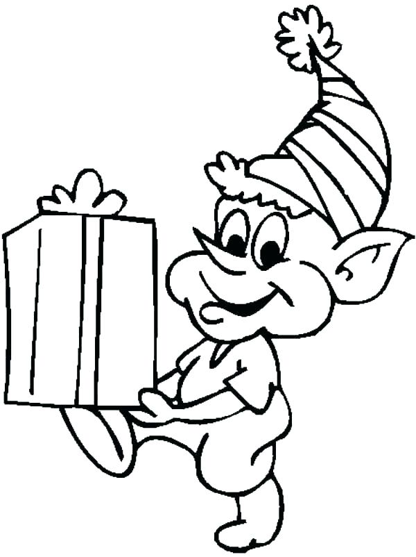 600x802 Elf On The Shelf Coloring Pages Free Printable Printable Coloring