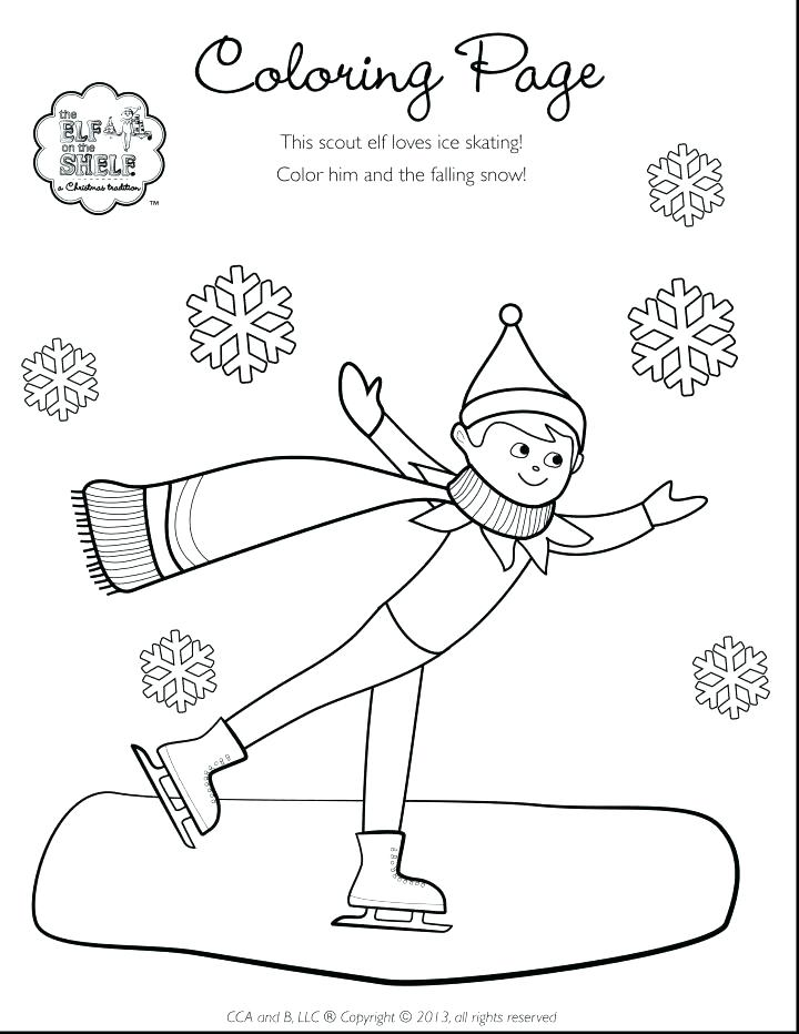 720x932 The Elf On The Shelf Coloring Pages Shelf Elf On The Shelf