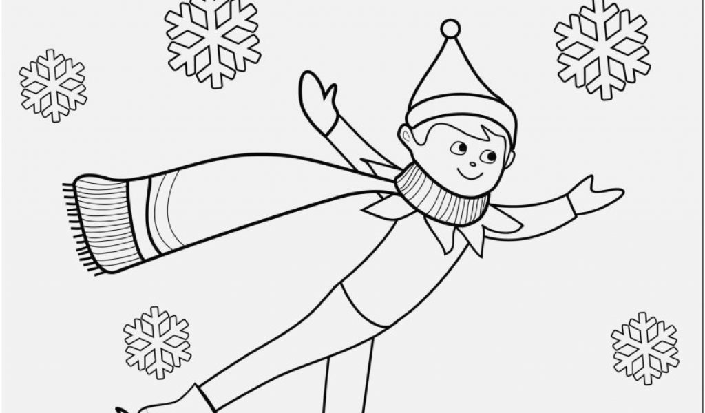 1024x600 Elf Coloring Pages View Elf The Shelf Coloring Pages Printable