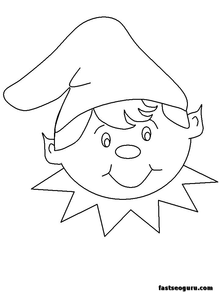 718x957 Best Elf On The Shelf Images On Coloring Pages
