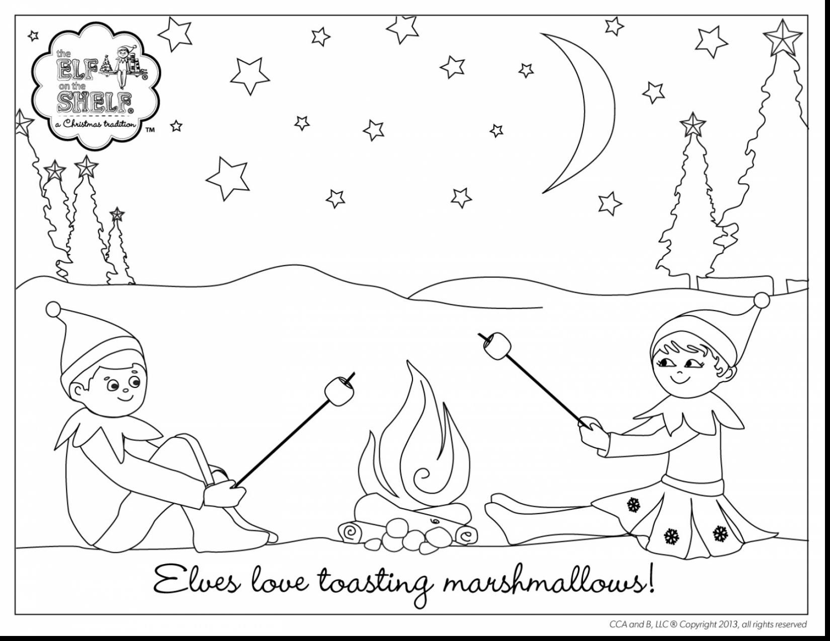 1650x1274 Elf On The Shelf Coloring Pages
