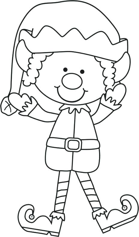 463x787 Elf On The Shelf Coloring Pages Free Printable Elf On The Shelf