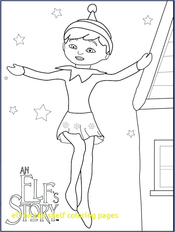 600x795 Elf On The Shelf Printable Coloring Pages Elf On The Shelf