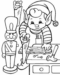236x296 Elf On The Shelf S Coloring Page Free Download