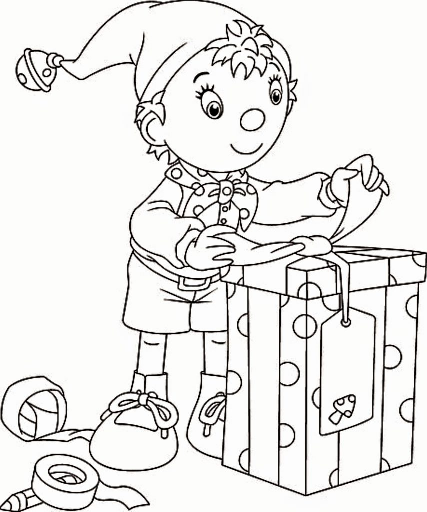 855x1024 Elves Distributing Gifts Coloring Page Ftk Elf On The Shelf Pages