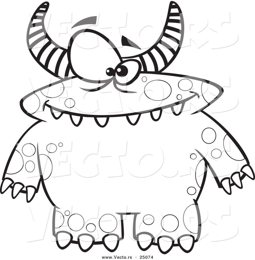 1024x1044 Excellent Ideas Monster Coloring Pages Monster Coloring Pages