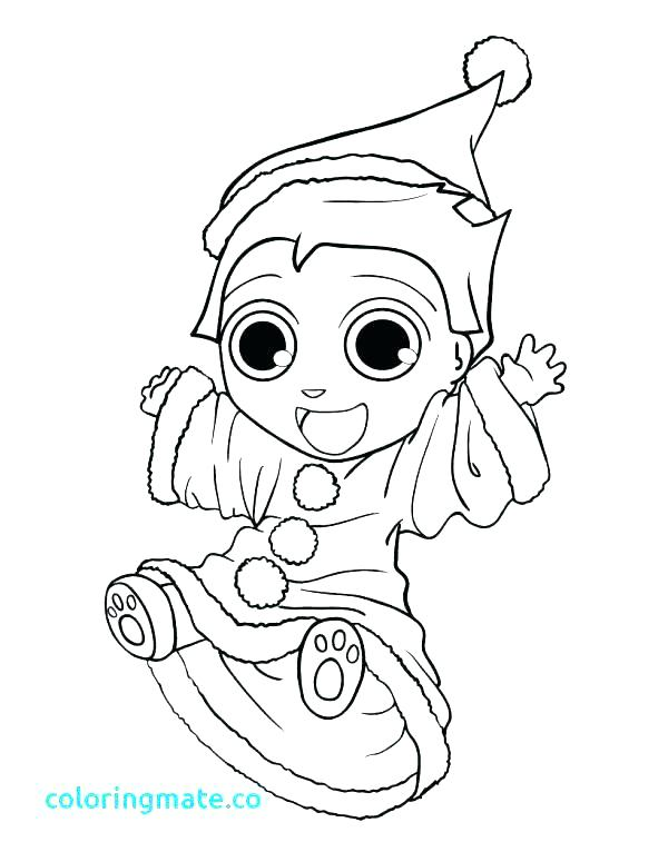 600x775 Shelf Elf Coloring Page Elf On The Shelf Free Colouring Pages