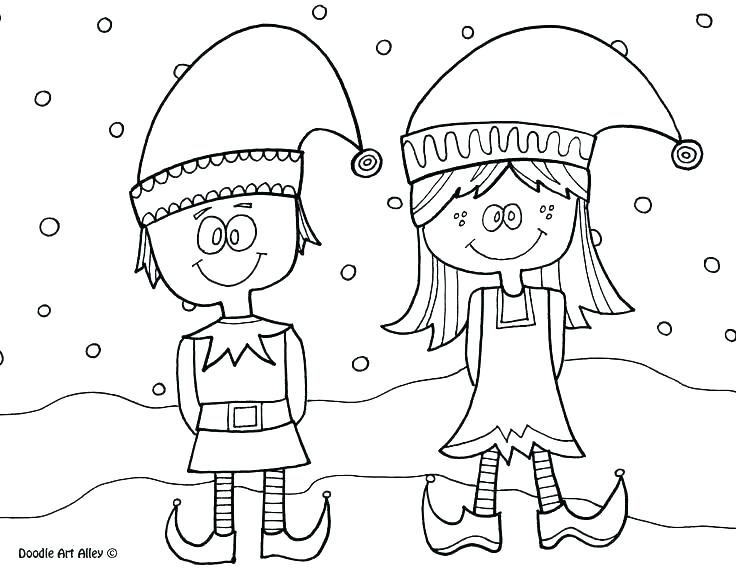 736x568 Elf On The Shelf Printable Coloring Pages