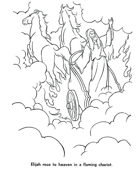 The Best Free Elijah Coloring Page Images Download From 144