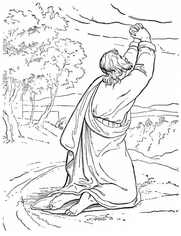 600x783 Elijah And The Prophets Of Baal Coloring Pages New Best Bible