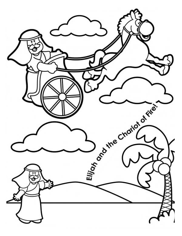 Elijah And Elisha Coloring Pages at GetDrawings.com | Free ...