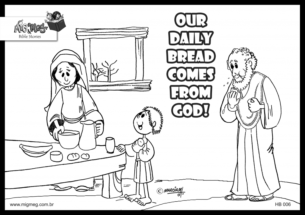 1024x724 Authentic Elijah And The Widow Coloring Page Triumphdm Com