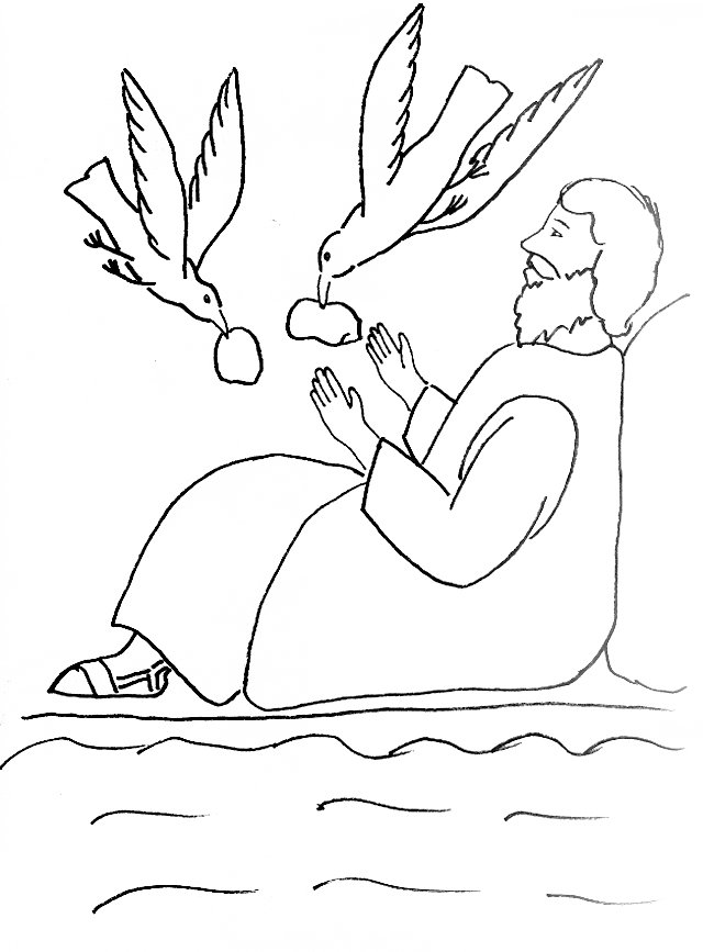 Elijah Coloring Pages