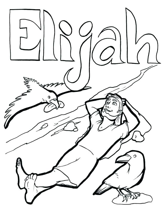 Elijah Coloring Pages at GetDrawings.com | Free for personal ...