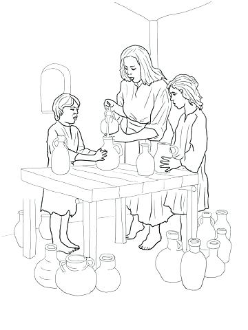 360x480 Elijah Coloring Pages Coloring Page And The Widow Coloring Page