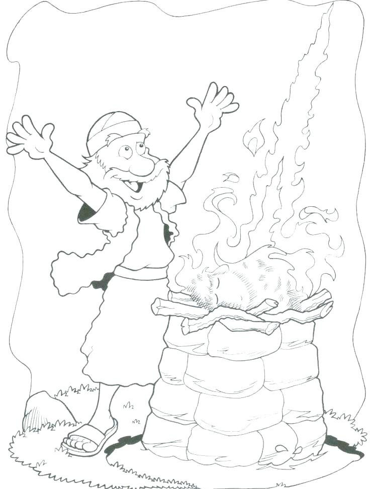 Elijah Coloring Pages For Sunday School at GetDrawings.com ...