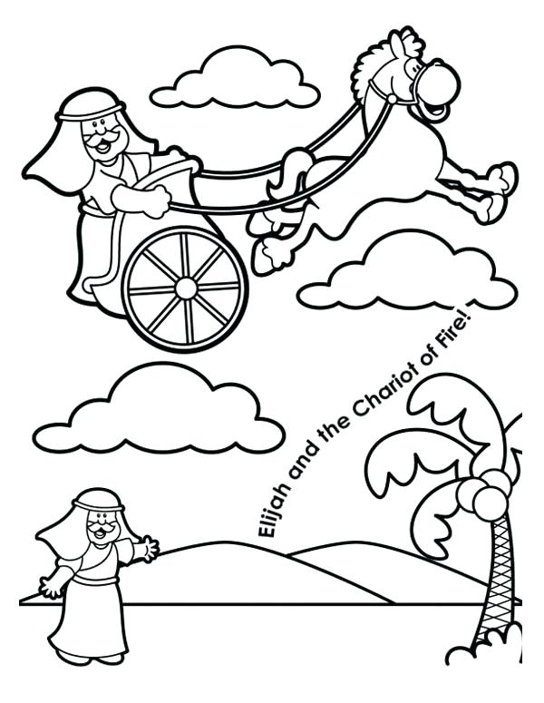 600x775 Elijah Coloring Pages Kings And The Widow Bible Mazes Free