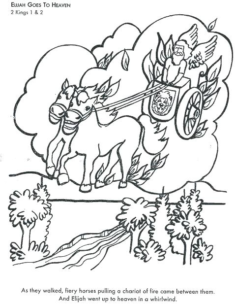 478x617 Interesting Elijah Coloring Pages And The Widow Coloring Page