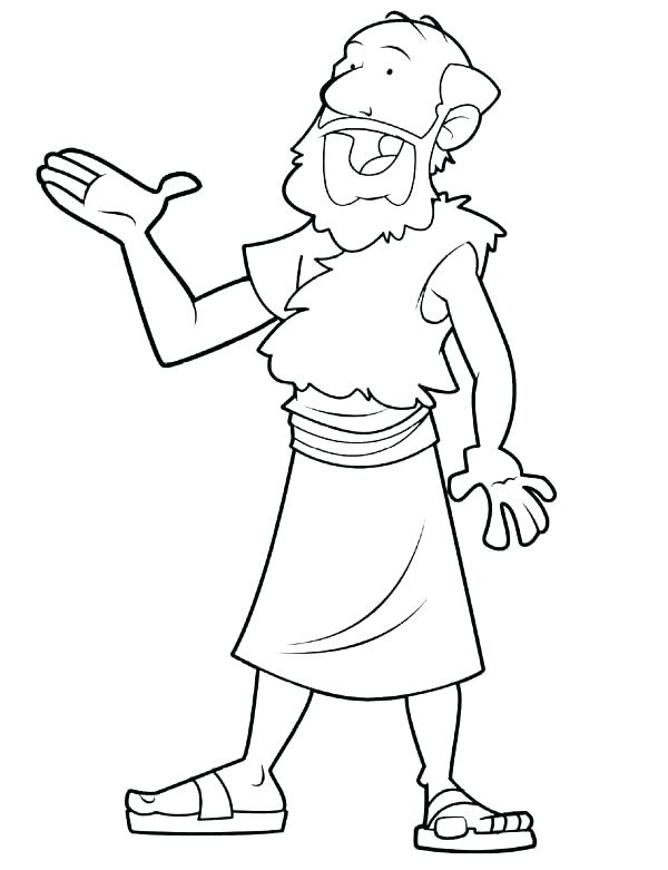 600x781 Elisha Coloring Pages And Coloring Pages With Coloring Page Elisha