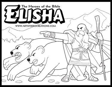 Elisha Coloring Pages at GetDrawings.com | Free for personal ...